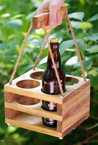 How To Make A Wooden Wine Bottle Holder - WoodWorking