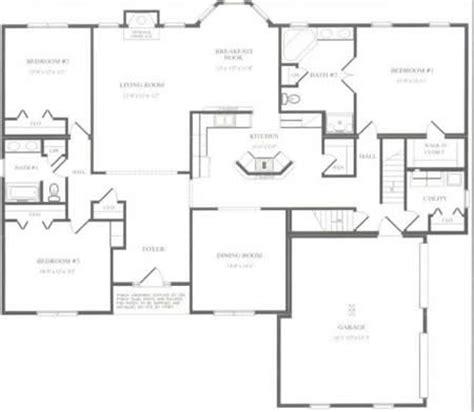 C239832 1G by Hallmark Homes Cape Cod Floorplan