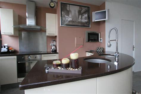 deco interieur cuisine decoration interieur cuisine marron