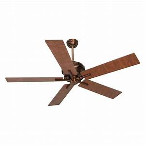 Craftmade gr ac grant in indoor ceiling fan aged