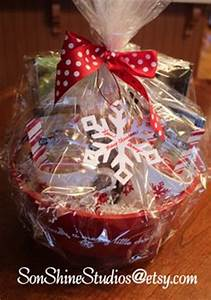 Christmas basket ideas on Pinterest