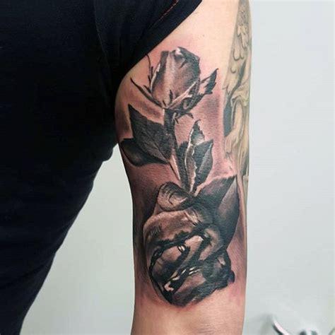 tricep tattoos  men masculine design ideas