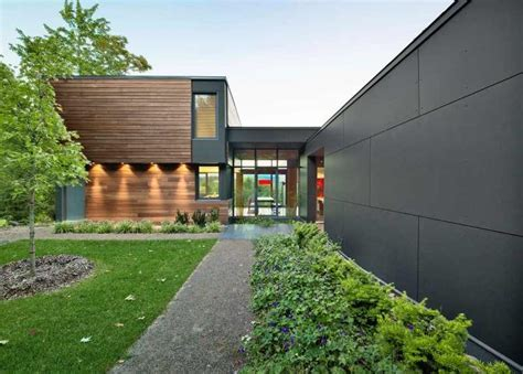 Impressive Modern Country Retreat in Quebec, Canada: T