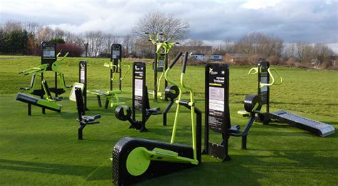 Outdoor Gym Equipment For Sandymount Promenade