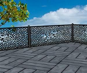 Brise Vue Design : brise vue m tal d cor salamandre nb19 varela la boutique ~ Farleysfitness.com Idées de Décoration