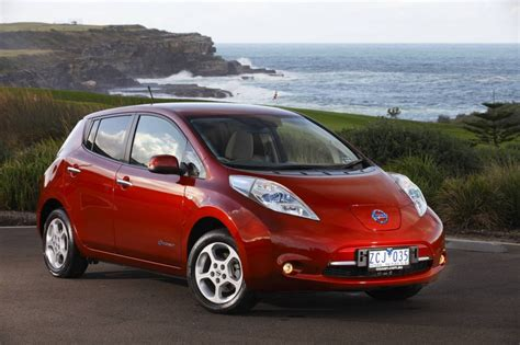 nissan australia nissan leaf now on sale in australia priced from 51 500