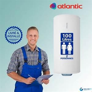 Chauffe Eau 100l Atlantic : chauffe eau lectrique 100l atlantic z n o vertical mural ~ Dailycaller-alerts.com Idées de Décoration