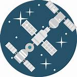 Space Station Icon Flaticon Icons Svg Base