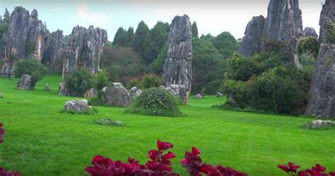 Yunnan Stone Forest Shilin In China Facts Some