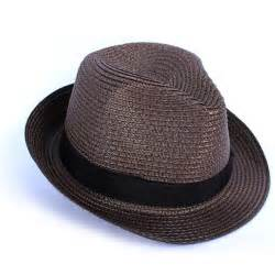 Summer Straw Fedora Hats for Men