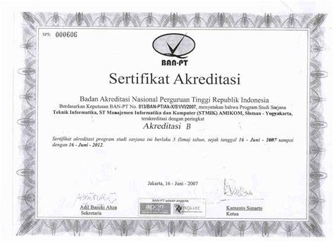 Surat Keterangan Akreditas by Contoh Surat Akreditasi Ban Pt Sandal Damen