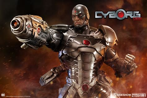 Dc Comics Cyborg Statue By Sideshow Collectibles