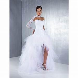 Robe Mariee Courte : robe de mari e tulle courte devant recherche google ~ Melissatoandfro.com Idées de Décoration