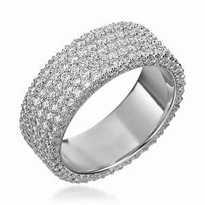 michael b mb14020501 wedding ring this 6mm platinum five With flat wedding rings with diamonds