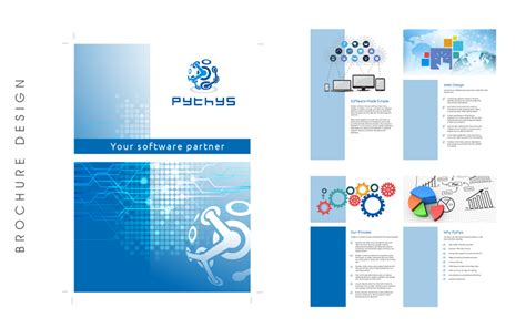Software For Designing Brochures by Graphic Design Sles Banners Flyers Labels Brochures