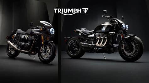 Triumph Unveils New Tfc Custom Models
