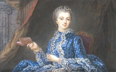 marquise de pompadour in blue polka dot dress by location unknown to gogm grand gogm