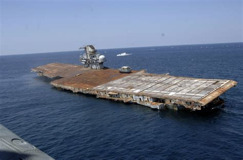 file us navy 060517 n 7992k 009 the ex oriskany a decommissioned aircraft carrier was sunk 24