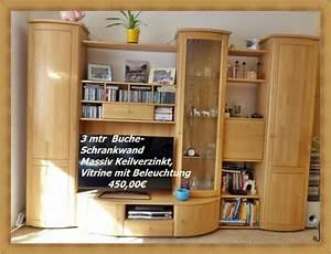 Wohnzimmerschrank Buche Massiv : wohnzimmerschrank buche neu und gebraucht kaufen bei ~ Indierocktalk.com Haus und Dekorationen