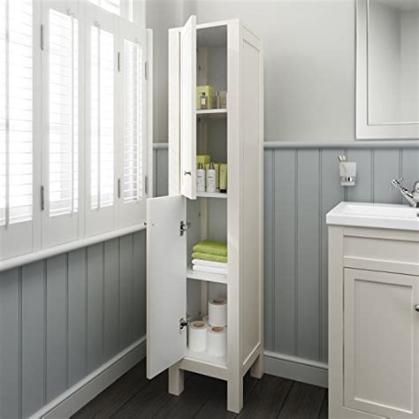 traditional ivory basin vanity cabinet tall bathroom