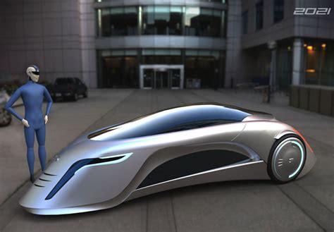 Supersonic Futuristic Car By Marko Lukovic
