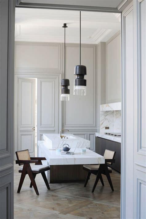 cuisine en parall鑞e plan cuisine rectangulaire maison design sphena com
