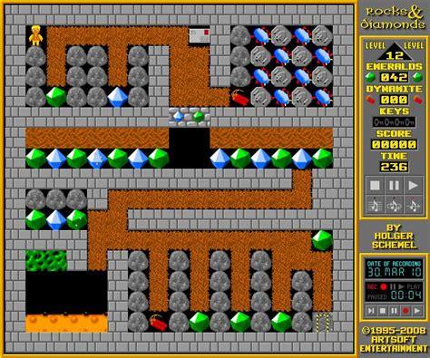 rockndiamonds windows mac linux dos game mod db