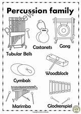 Percussion Instruments Glockenspiel Bells Tubular Coloring Names Drum Pages Line Template Activities Puzzles Anastasiya Studio Marimba Three Snare Templates Worksheets sketch template