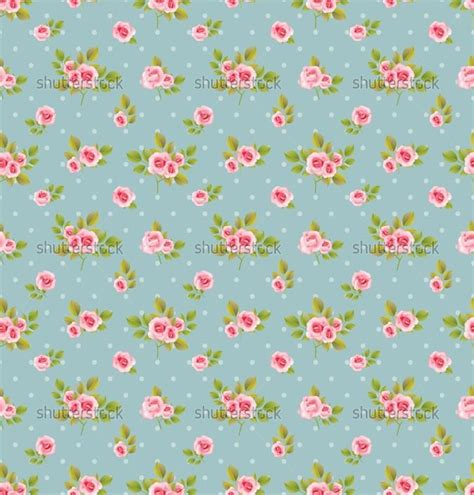 shabby chic patterns shabby chic roses background of seamless vector