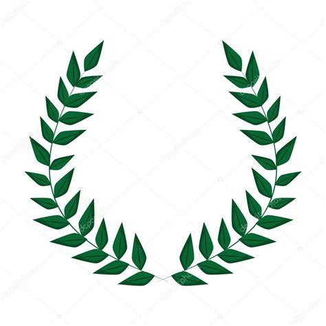 wreath leaves crown design stock vector  jemastock