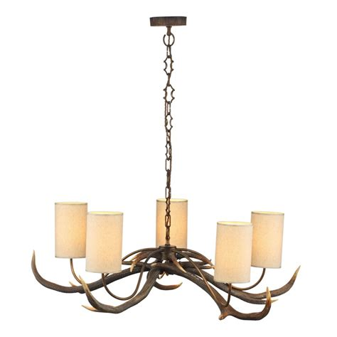 rustic ceiling lights rustic chandelier antler ceiling light with naturalistic