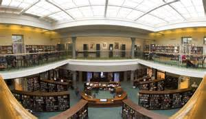file bergen library interior panorama jpg wikimedia commons - Home Library Interior Design