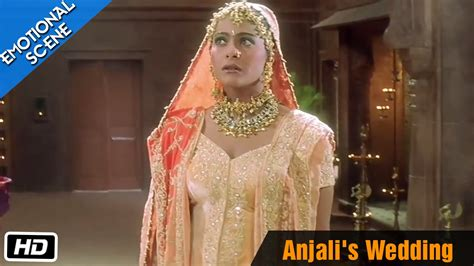 anjalis wedding emotional scene kuch kuch hota hai