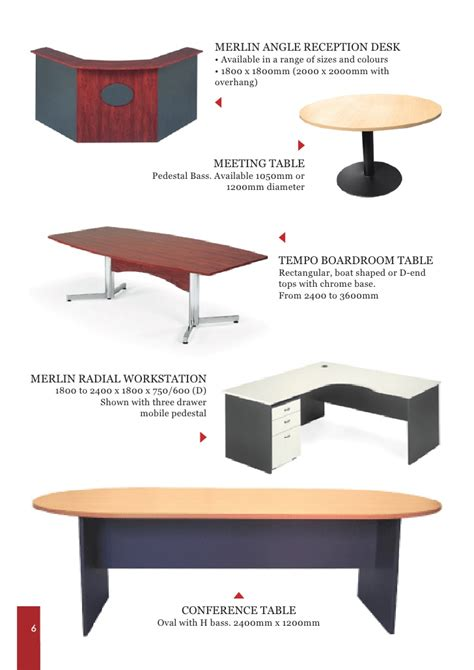 table catalogue sle catalogue for office furniture