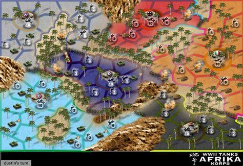 wwii tanks afrika korp map