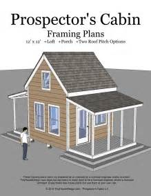 free small cabin plans with loft prospector 39 s cabin 12 39 x12 39 tiny house design