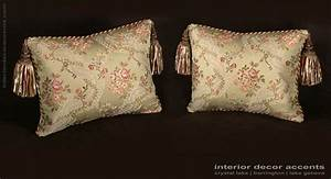 custom design pillows lee jofa silk angelina lampas in With designer decorative pillows for couch