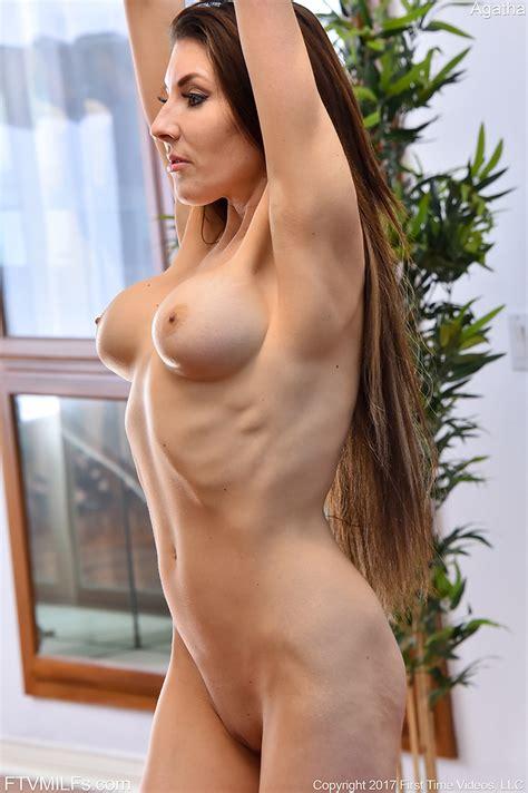 Skinny Brunette Long Hair