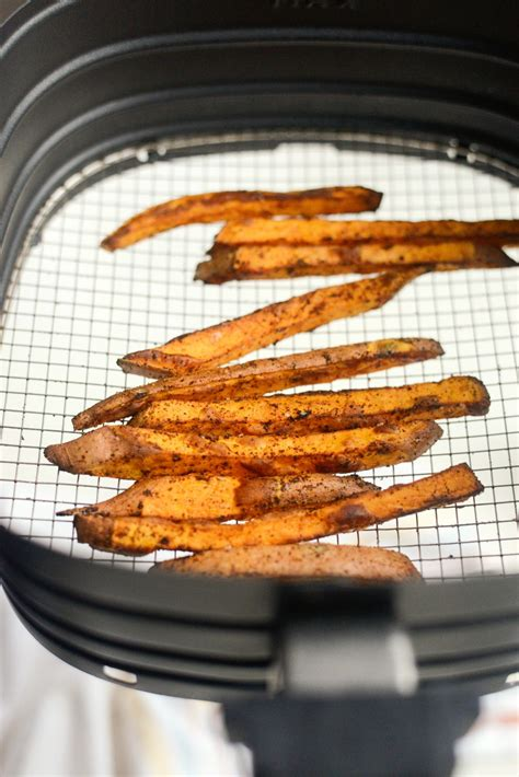 fryer air potato fries sweet crispy fry simplyscratch scratch check basket oil