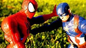Spiderman vs Ultron, Captain America, Iron Man - Episode 1 ...