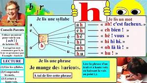Mots Avec H : apprentissage de la lecture maternelle cp en fran ais alphabet h h 24 youtube ~ Medecine-chirurgie-esthetiques.com Avis de Voitures