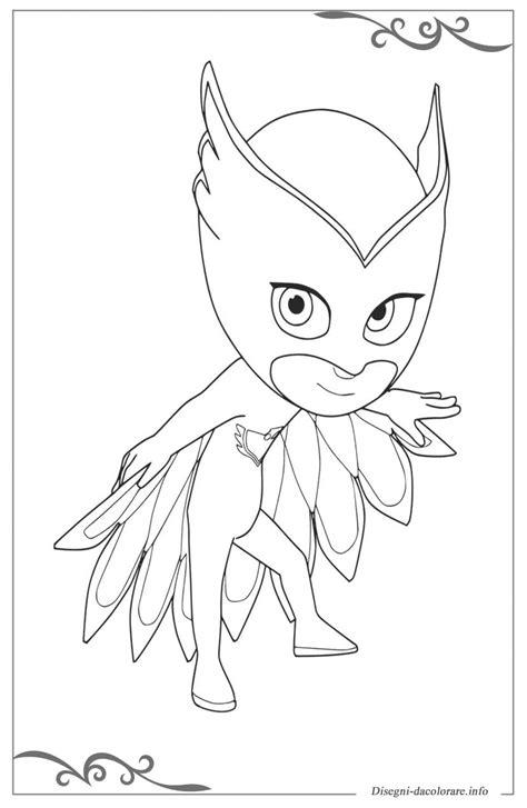 disegni da colorare per bambini pigiamini pj masks pigiamini disegni per bambini da stare