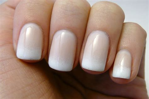 Gradient French Manicure