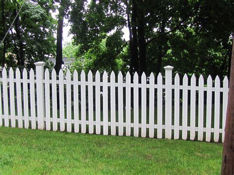 living on white fences