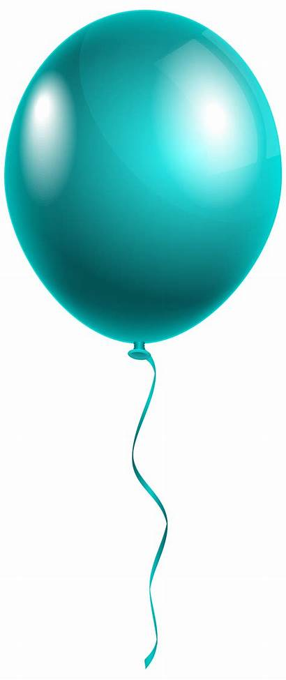 Balloon Transparent Clipart Background Single Clip Birthday