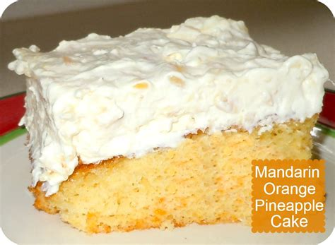 orange pineapple cake mandarin orange pineapple cake recipe