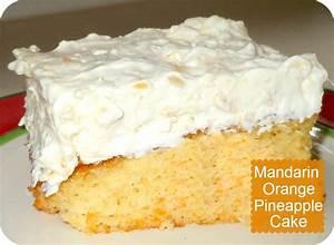 Cake (Mandarin Orange Cake With Pineapple Whipped Cream