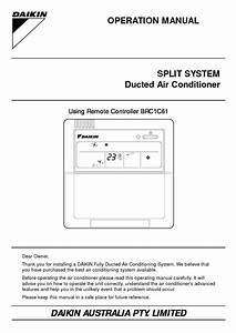 Daikin Ceiling Cassette Operation Manual  U2013 Shelly Lighting