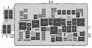Chevrolet Colorado  2017  - Fuse Box Diagram