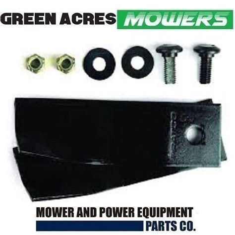 blades bolts fit  mtd mowers   swing  blade